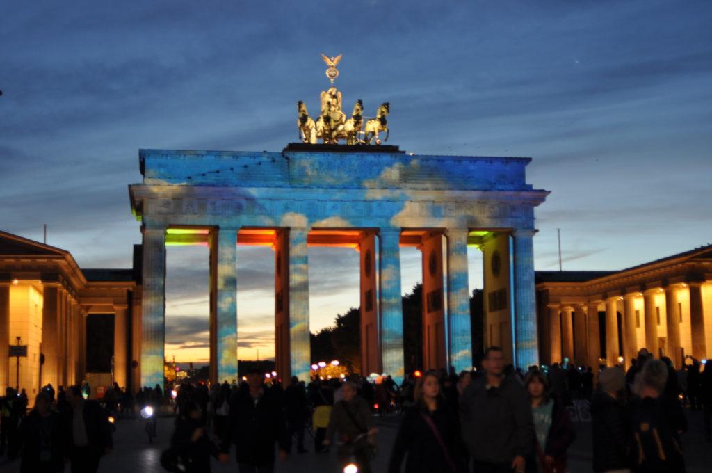 Puerta de Brandenburgo en Berlin