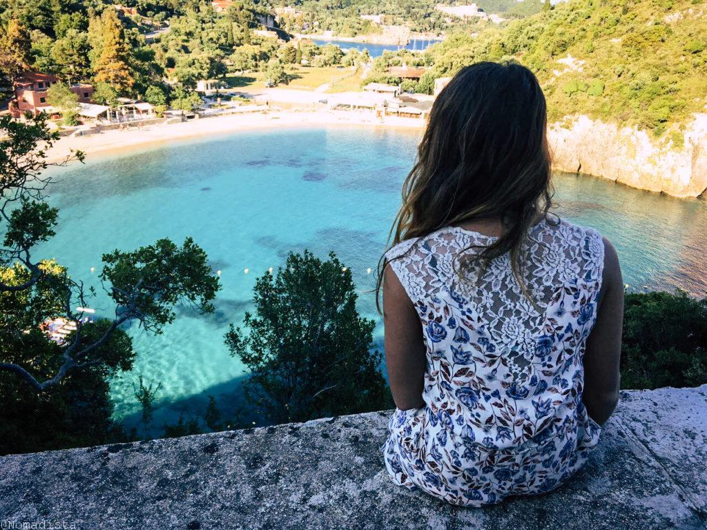 la isla de Corfu