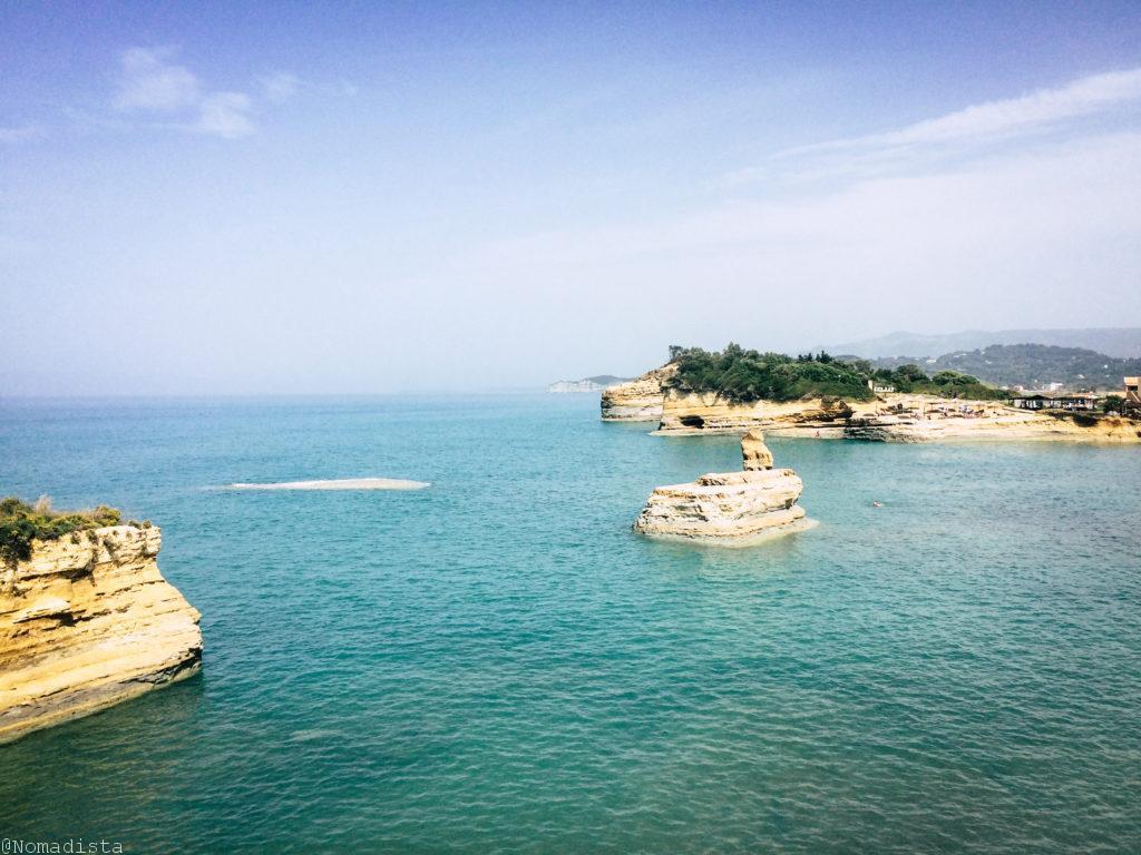 moverse en la isla de Corfú